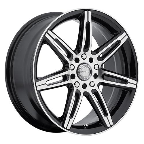 Focal Wheels 430 FO7 Gloss Black w/ Diamond Cut Face