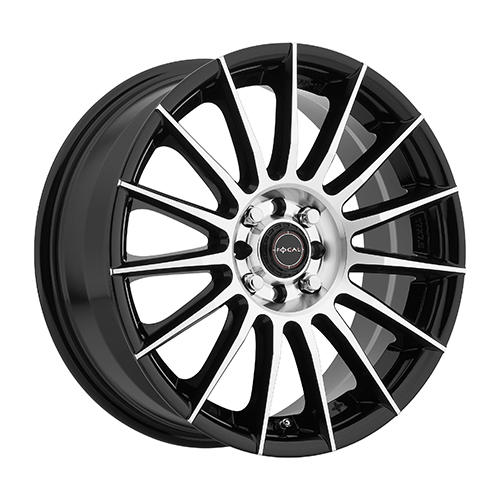 Focal Wheels 442 F-15 Gloss Black w/ Diamond Cut Face