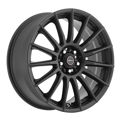 Focal Wheels 442 F-15 Satin Black