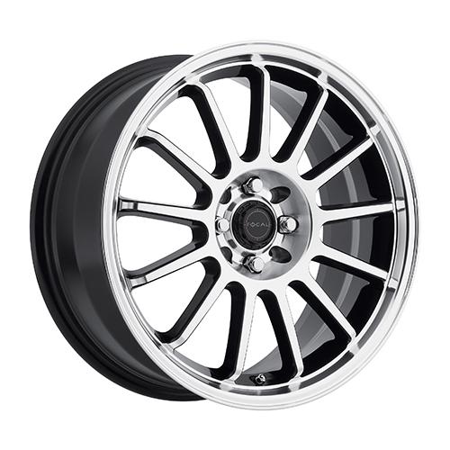 Focal Wheels 446 F-13 Gloss Black w/ Diamond Cut Face