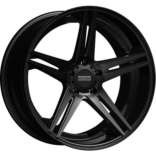 Fondmetal Wheels STC-05 Matte Black