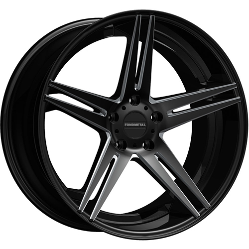 Fondmetal Wheels STC-05 Gloss Black Milled