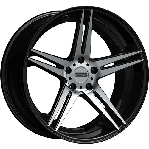 Fondmetal Wheels STC-05 Gloss Black Machined