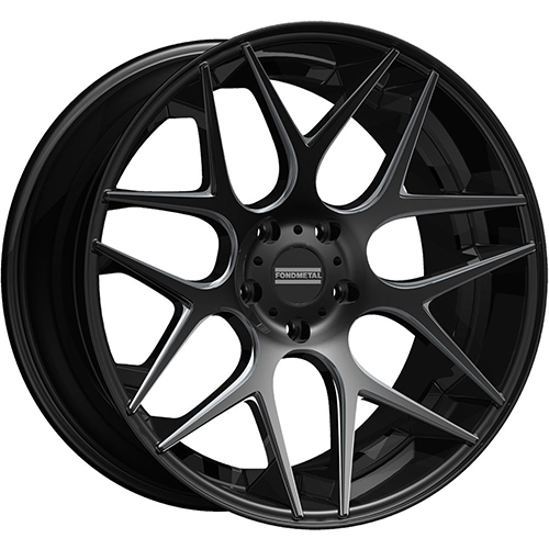 Fondmetal Wheels STC-MS Gloss Black Milled