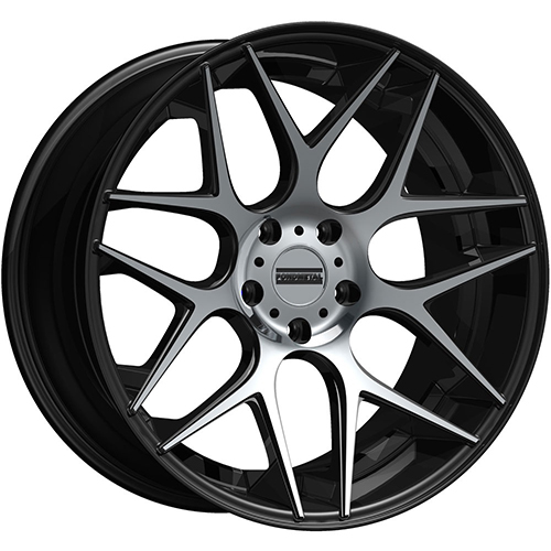 Fondmetal Wheels STC-MS Gloss Black Machined