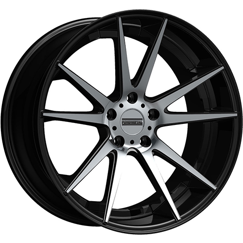 Fondmetal Wheels STC-10 Gloss Black Machined