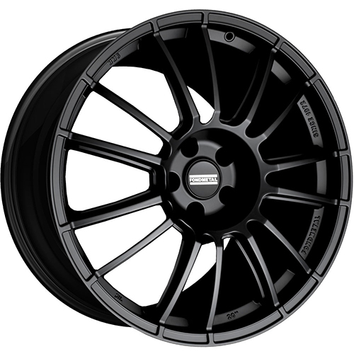 Fondmetal Wheels 9RR Matte Black