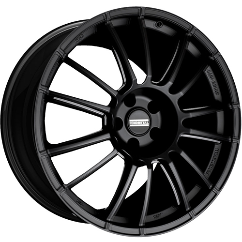 Fondmetal Wheels 9RR Gloss Black Milled