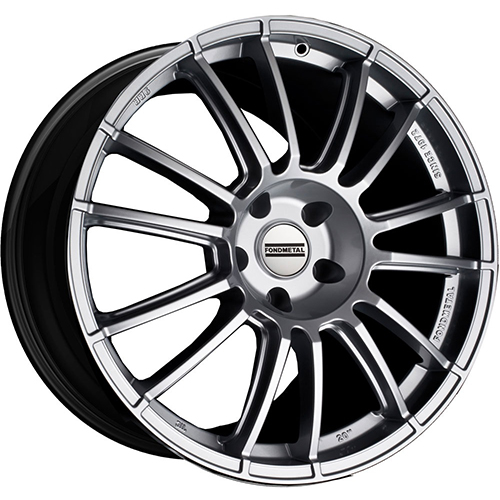 Fondmetal Wheels 9RR Gloss Silver