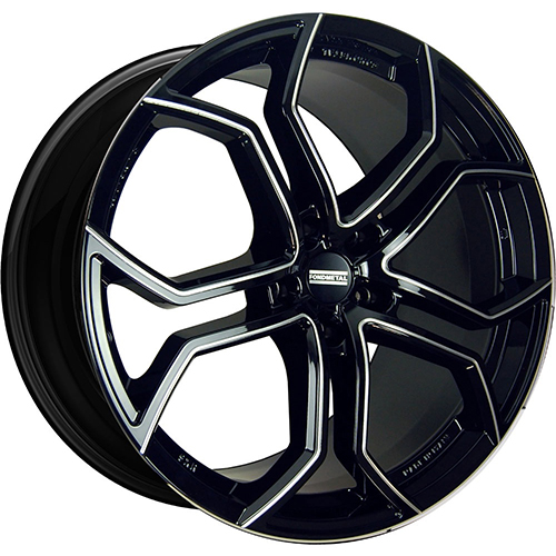 Fondmetal Wheels 9XR Gloss Black Milled