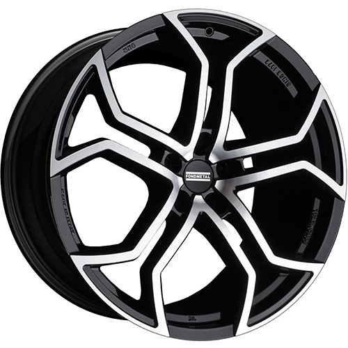 Fondmetal Wheels 9XR Gloss Black Machined