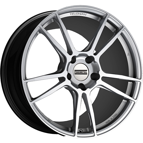 Fondmetal Wheels 9FORGE Gloss Silver