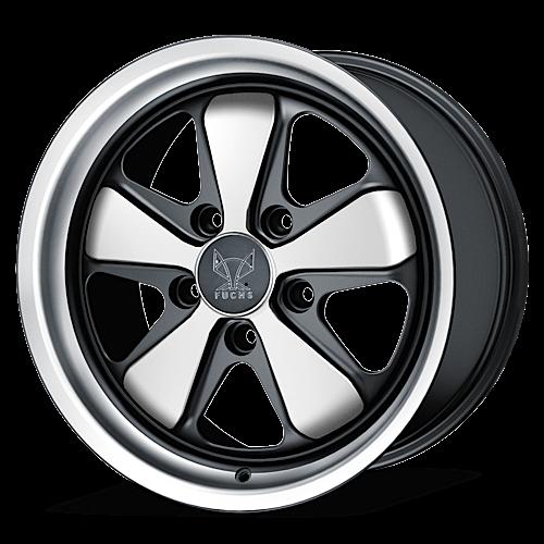 Fuchs Wheels Fuchs Original Porsche Anodized Silver
