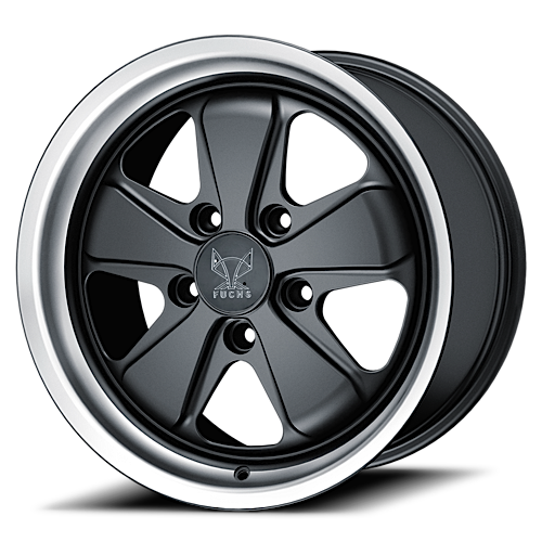 Fuchs Wheels Fuchs Original Porsche Satin Black