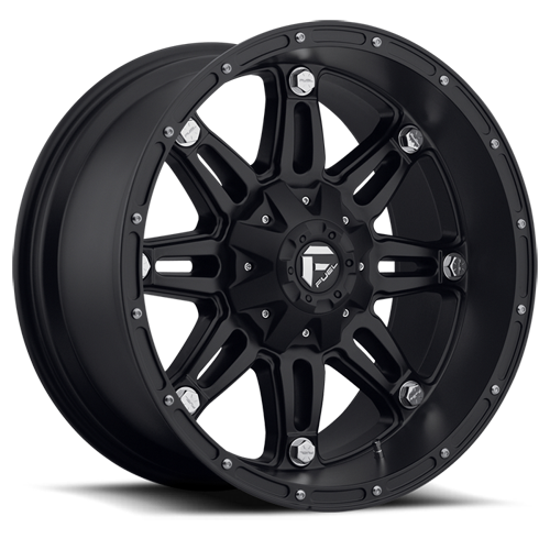 17x9 Fuel Offroad Wheels D531 Hostage
