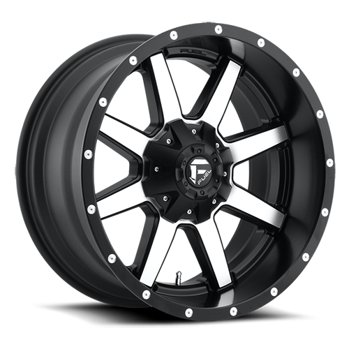 18x12 Fuel Offroad Wheels D537 Maverick
