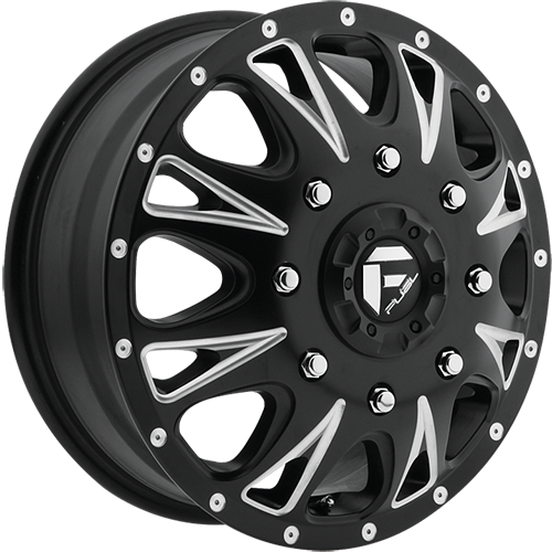 Fuel Offroad Wheels D513 Throttle Dually Front