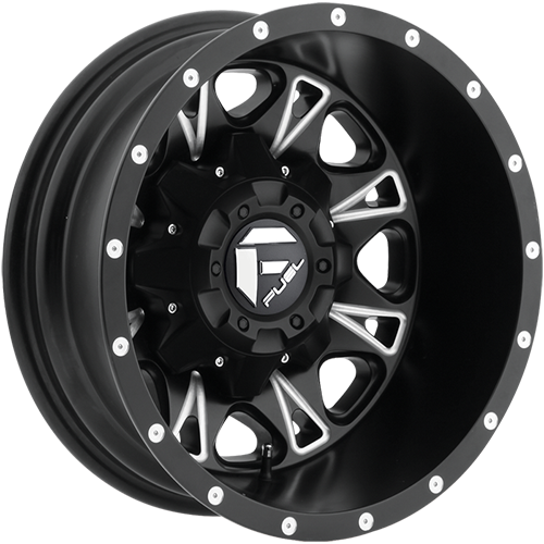 Fuel Offroad Wheels D513 Throttle Dually Rear