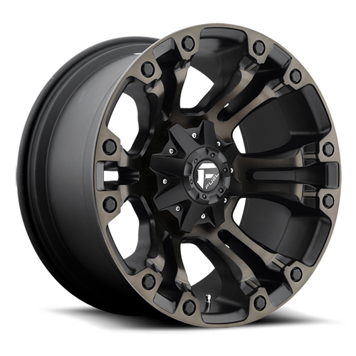20x10 Fuel Offroad Wheels D569 Vapor