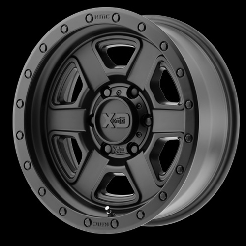 XD Series by KMC Wheels Fusion Off-Road Satin Black