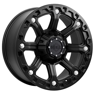 Gear Alloy Offroad Wheels Blackjack Carbon Black