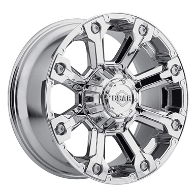 Gear Alloy Offroad Wheels Backcountry Chrome Plated
