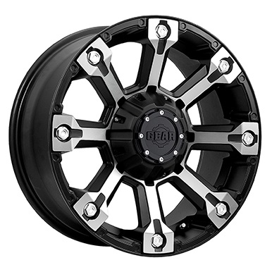 Gear Alloy Offroad Wheels Backcountry Machined Face Black Accents