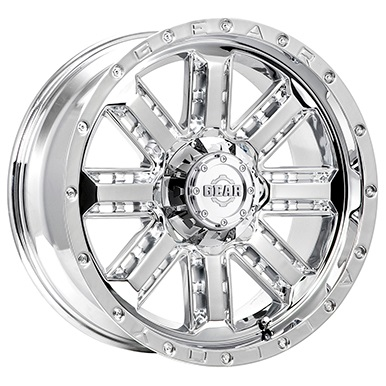 Gear Alloy Offroad Wheels Nitro Chrome Plated