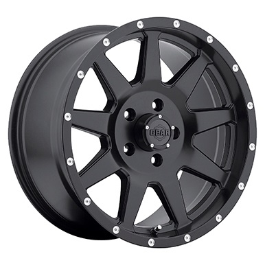 Gear Alloy Offroad Wheels Overdrive Satin Black