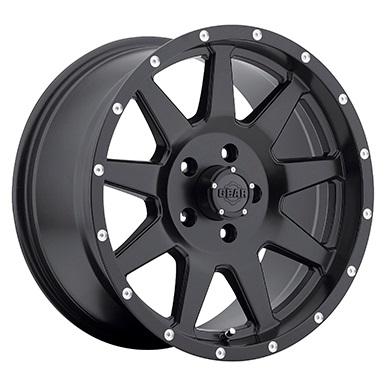 Gear Alloy Offroad Wheels Overdrive Satin Black
