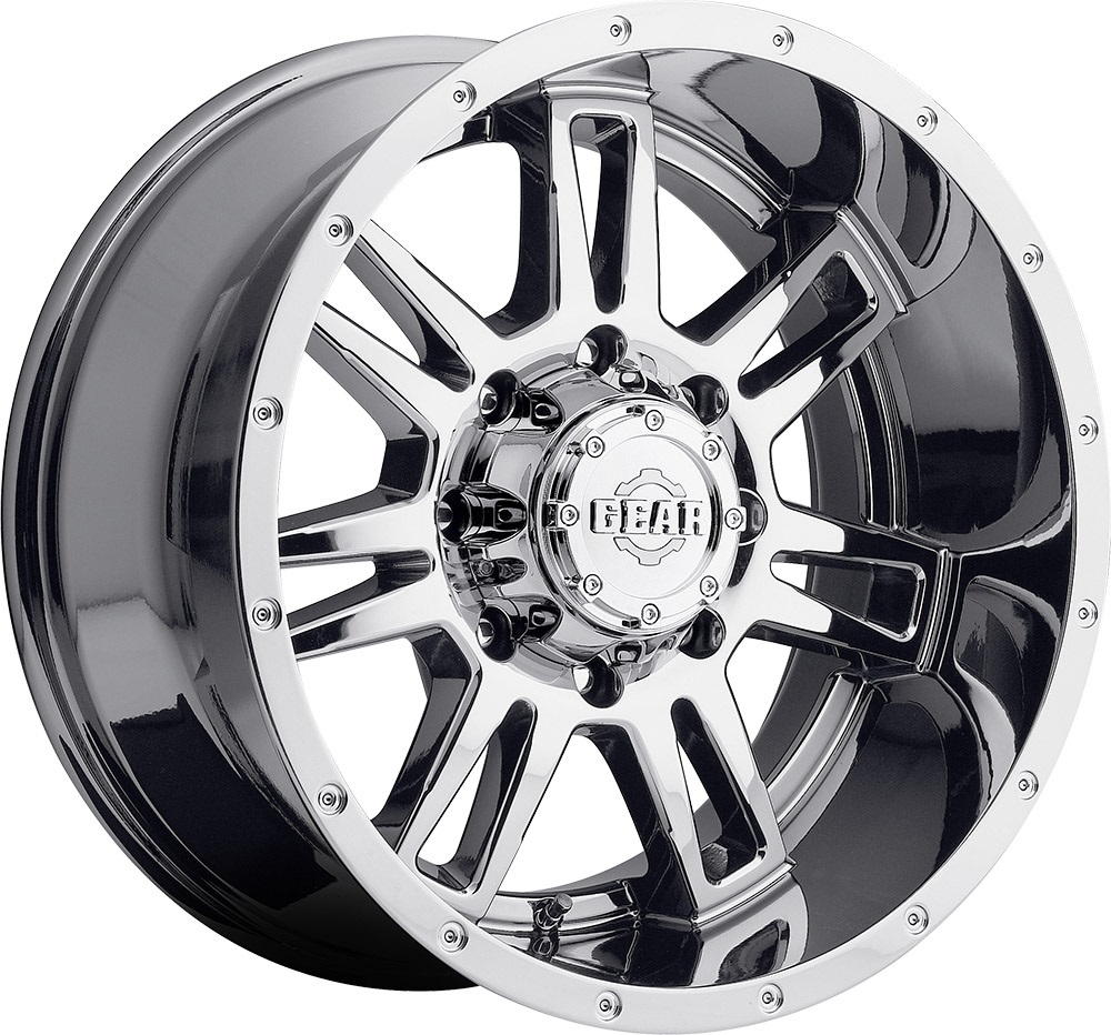 Gear Alloy Offroad Wheels Challenger Bright Pvd