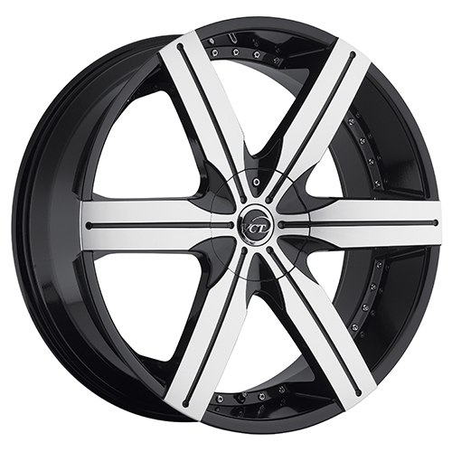VCT Wheels Gotti Black/Machined