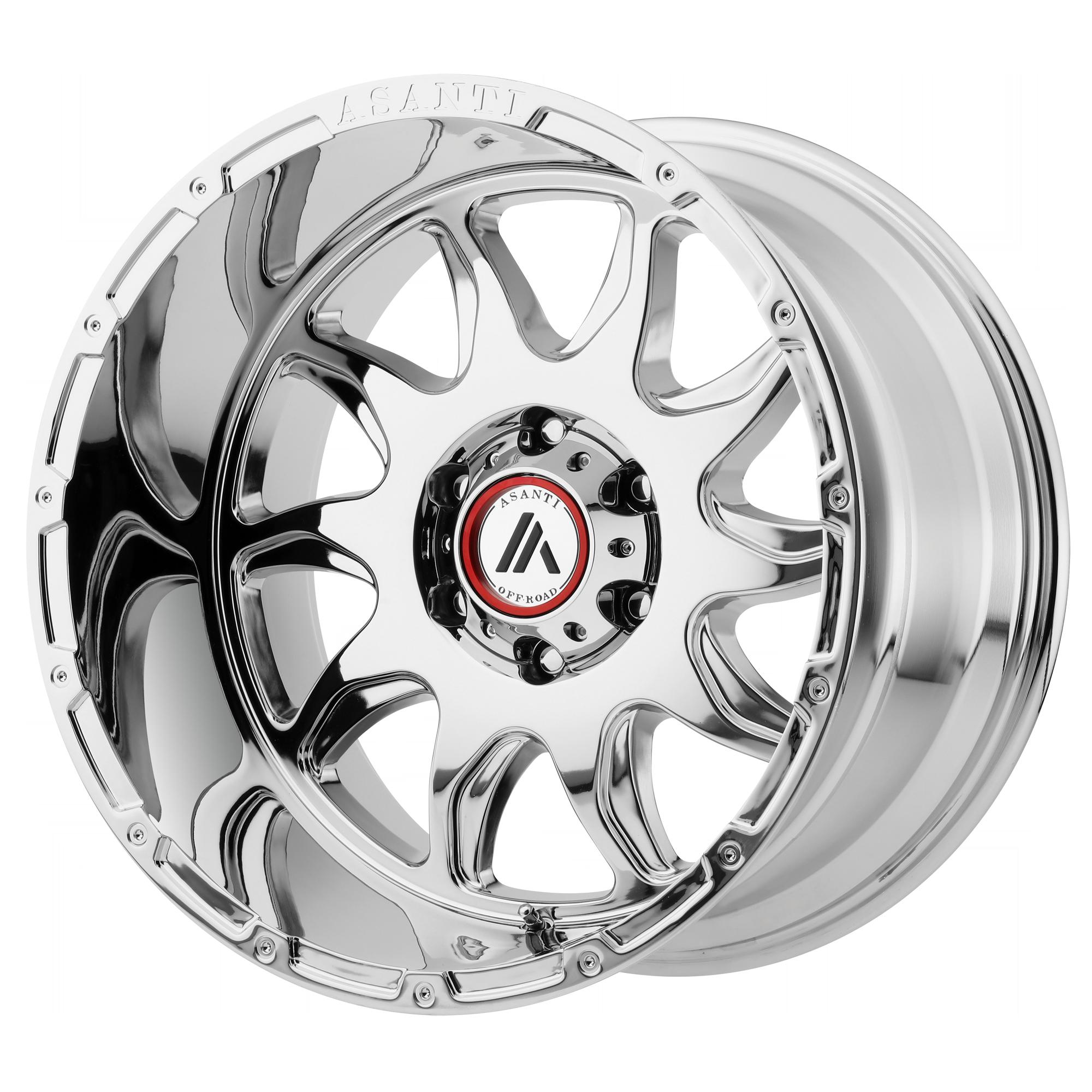 Asanti Off-Road Wheels AB810 Chrome