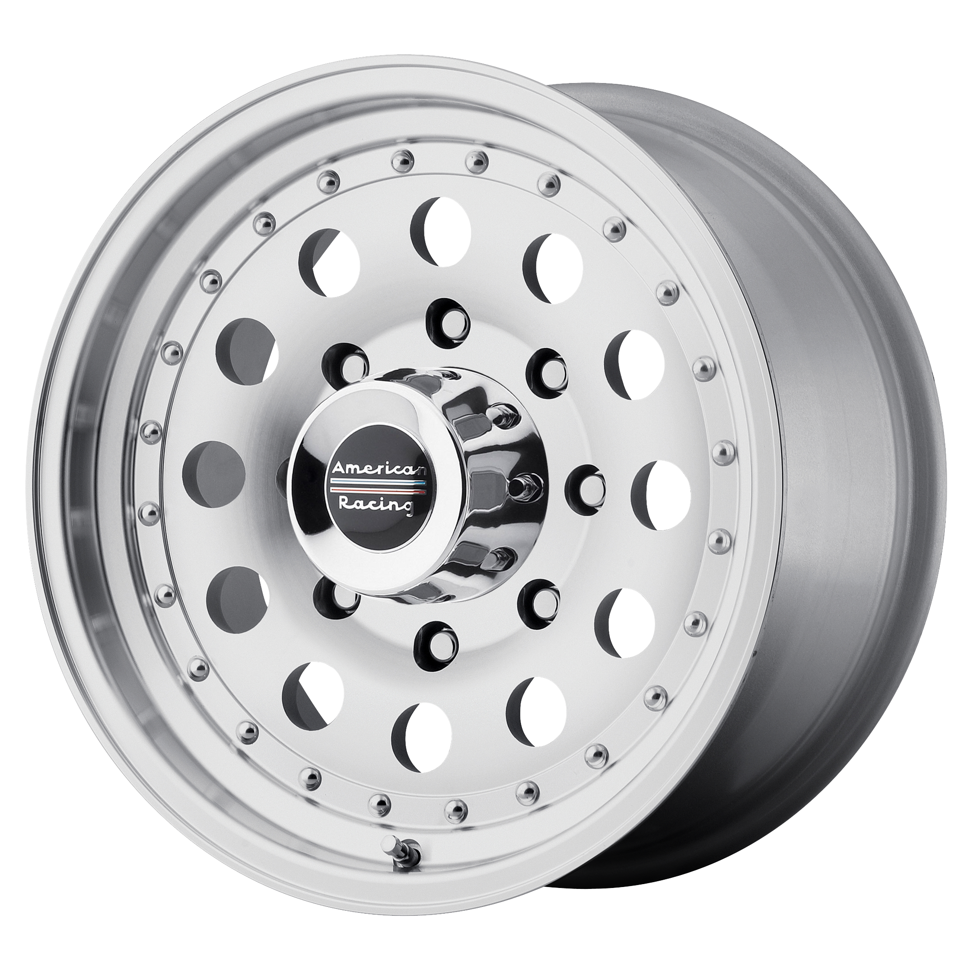 American Racing Wheels AR62 OUTLAW II Machined