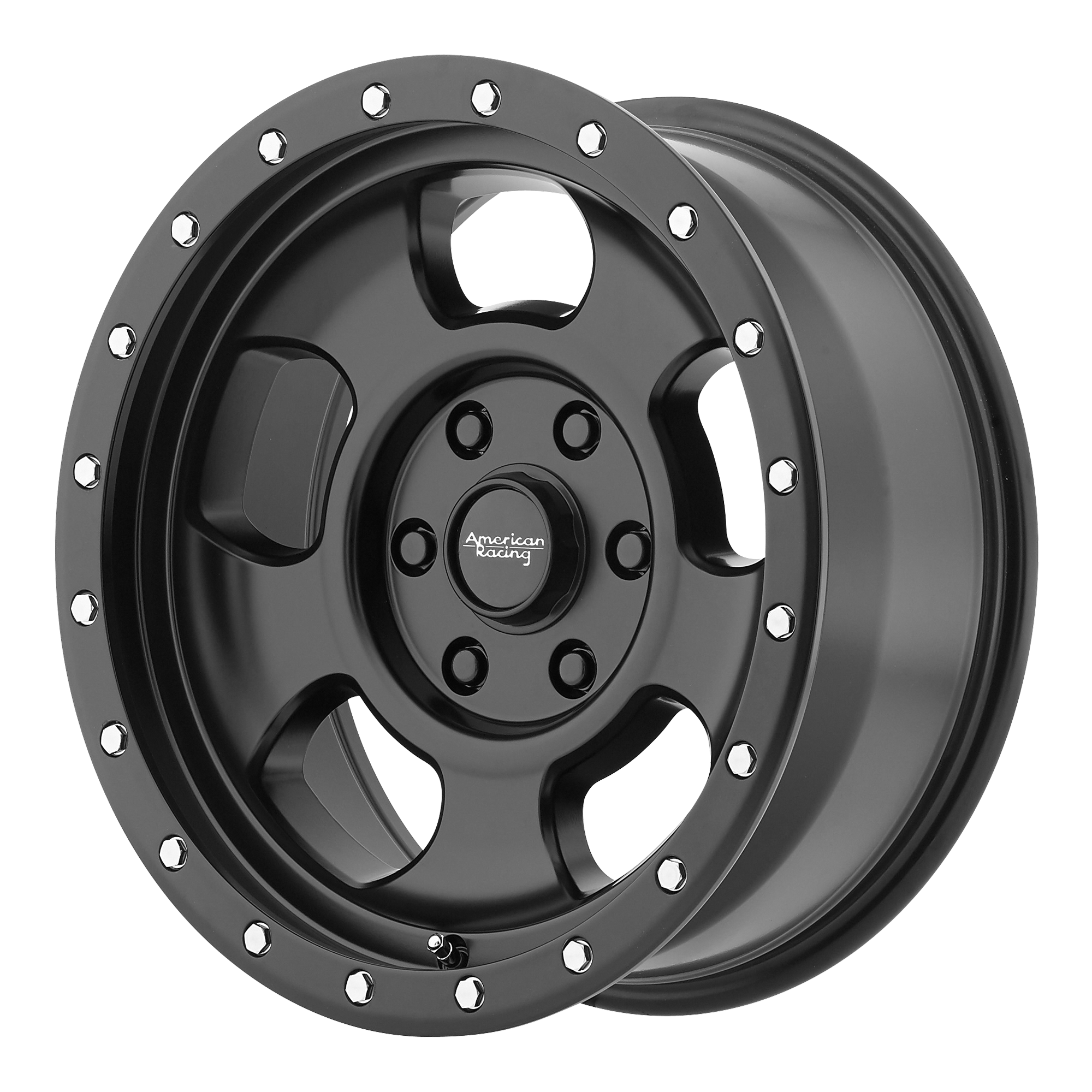 American Racing Wheels AR969 ANSEN OFFROAD Black