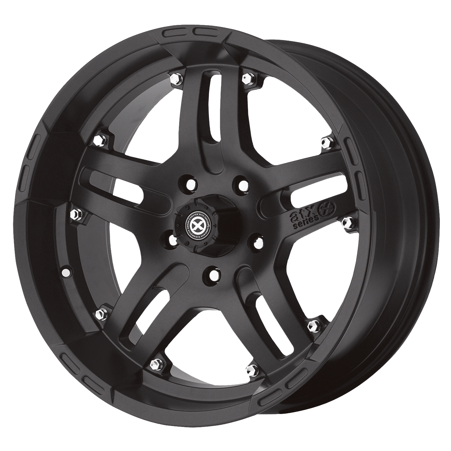 ATX Series Offroad Wheels ARTILLERY Cast Iron Black