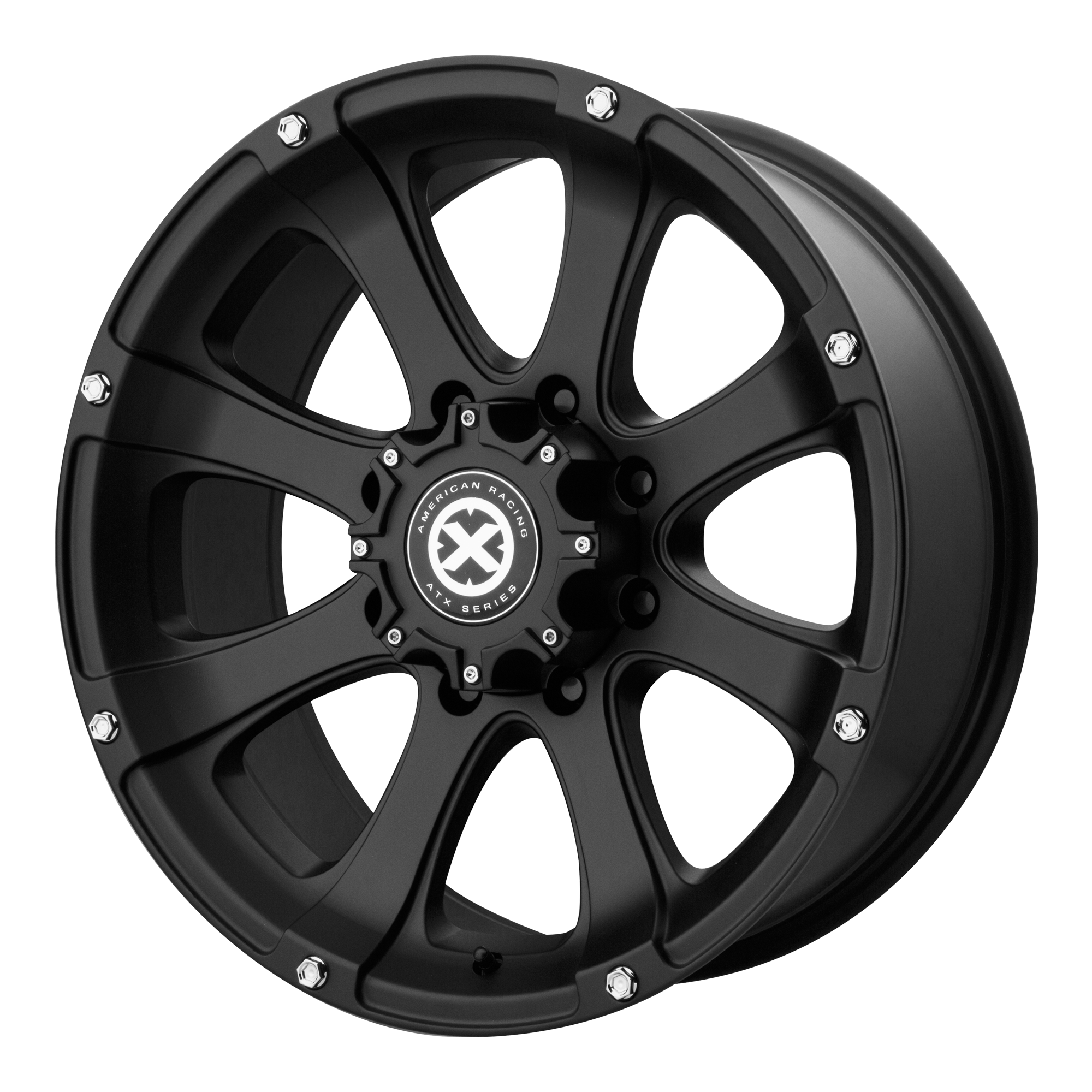 ATX Series Offroad Wheels LEDGE Cast Iron Black
