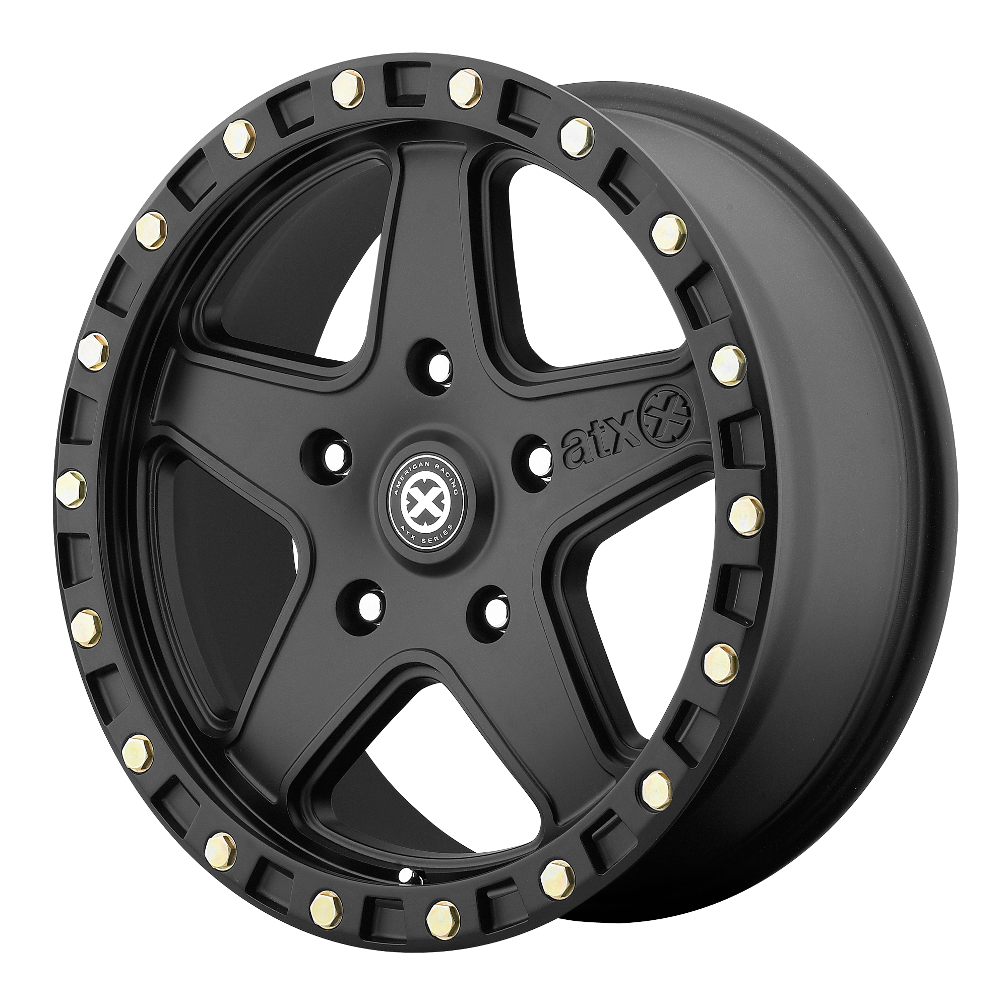ATX Series Offroad Wheels RAVINE Textured Black