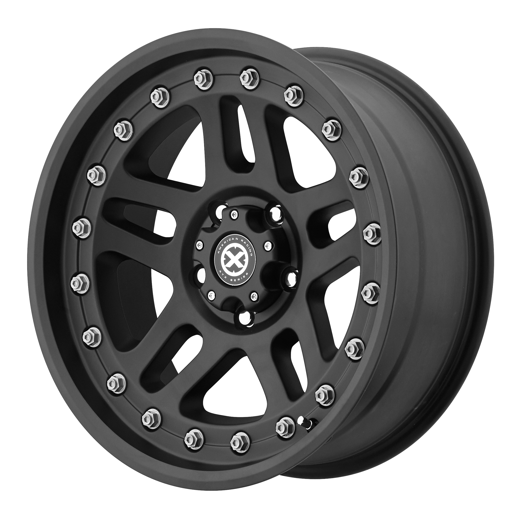 ATX Series Offroad Wheels CORNICE Textured Black