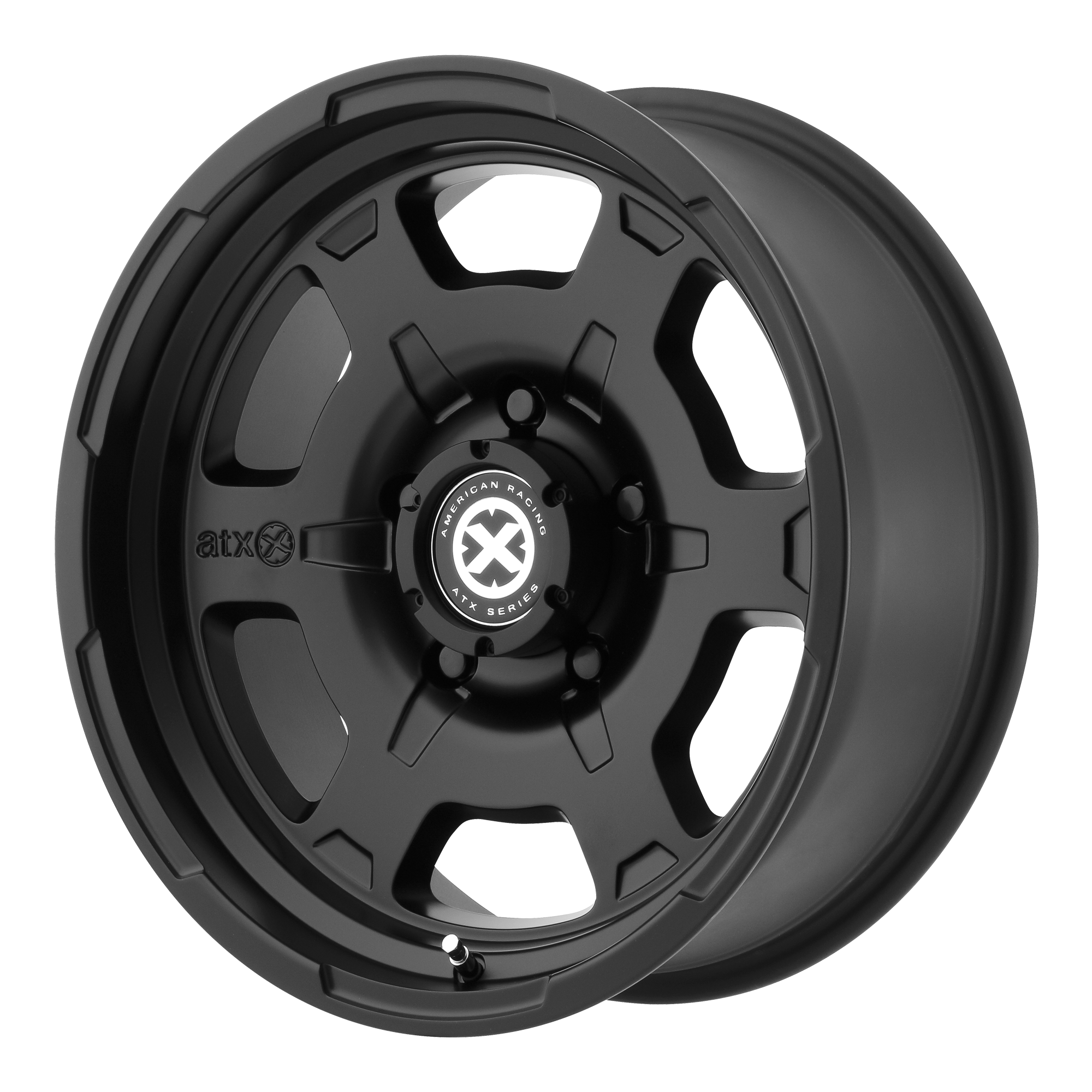 ATX Series Offroad Wheels CHAMBER II Satin Black