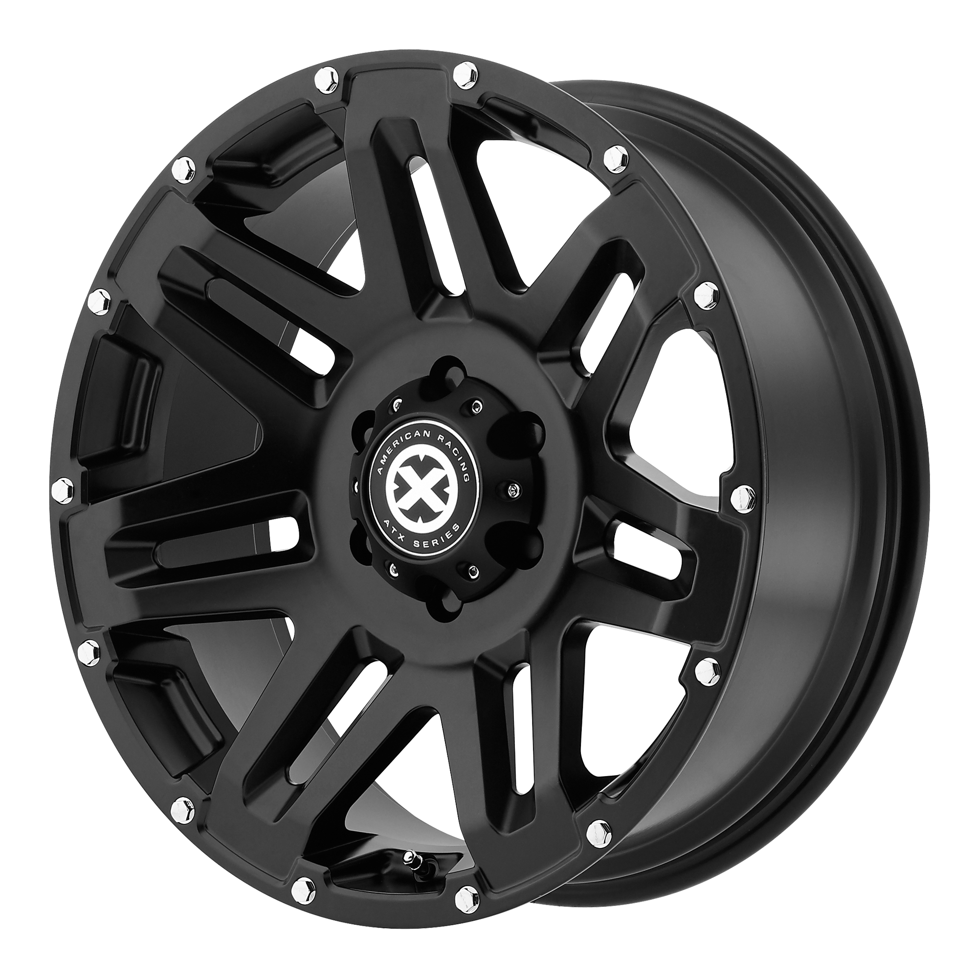 ATX Series Offroad Wheels YUKON Cast Iron Black