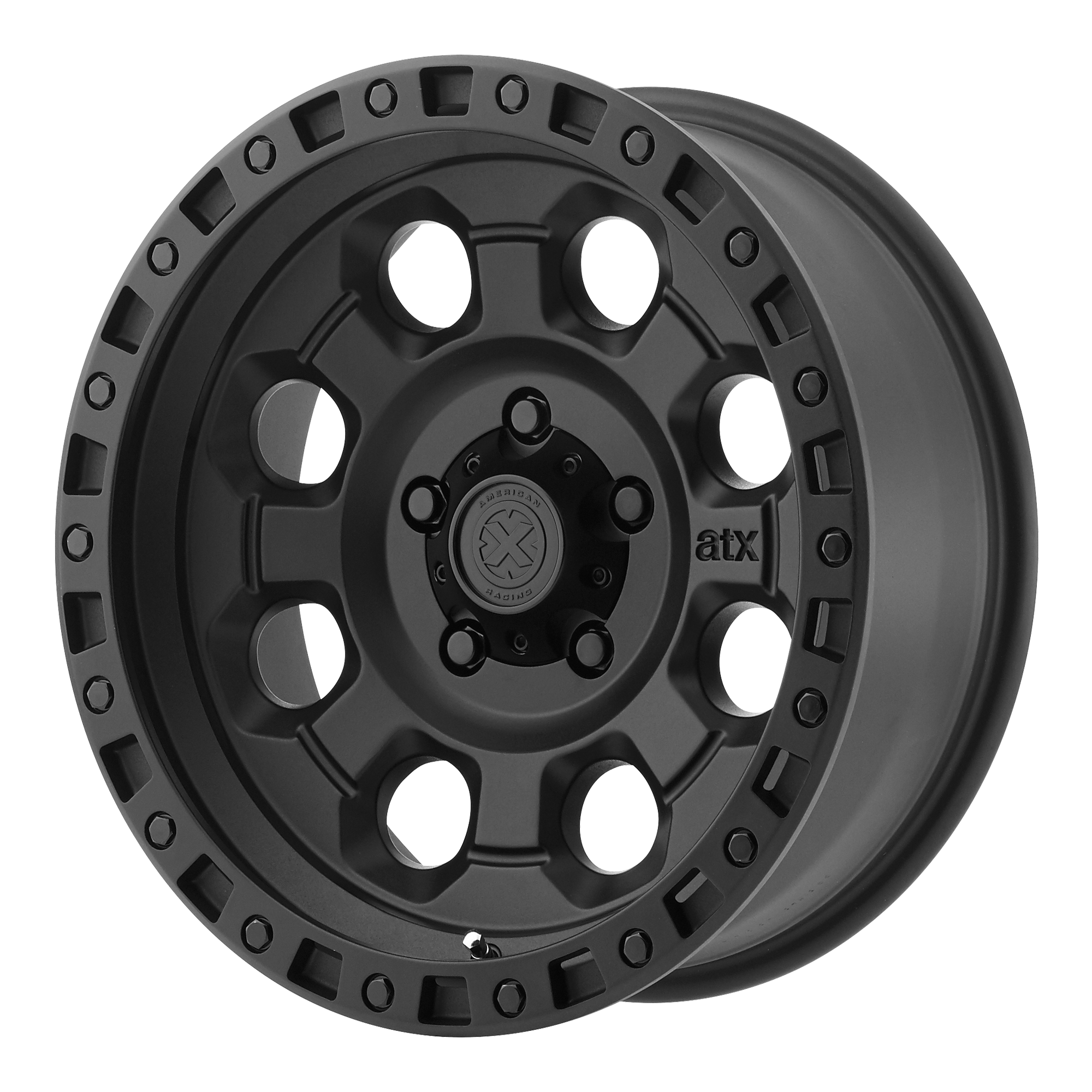 ATX Series Offroad Wheels AX201 Cast Iron Black