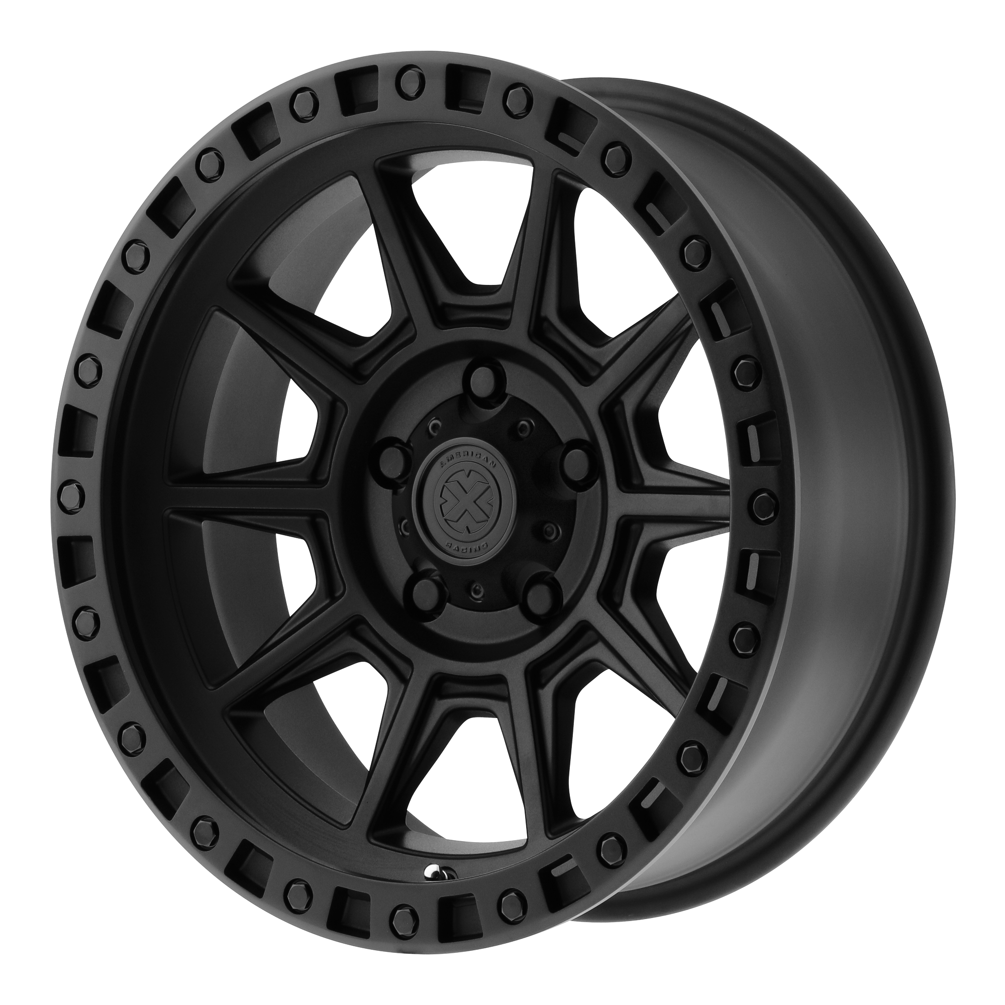 ATX Series Offroad Wheels AX202 Cast Iron Black
