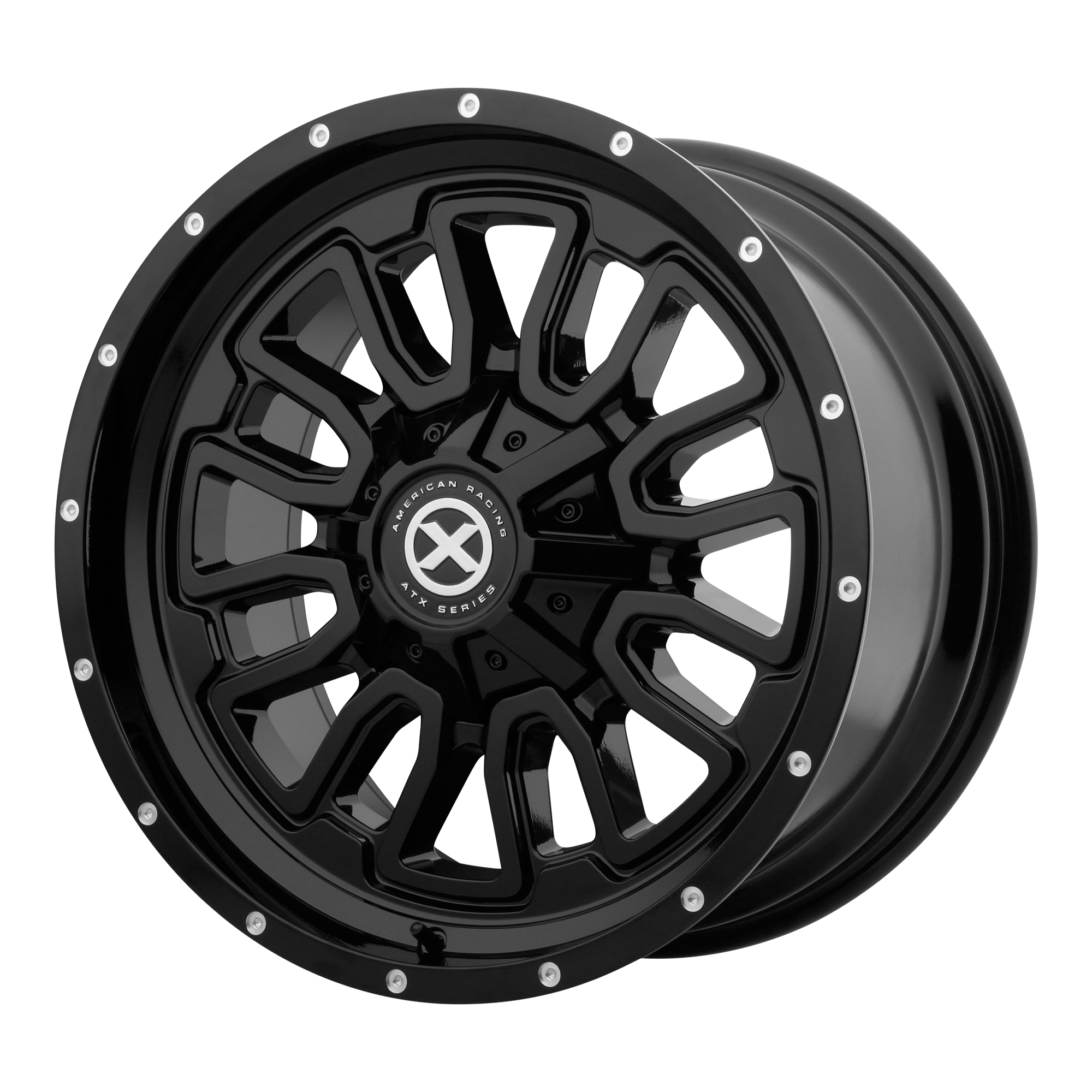 ATX Series Offroad Wheels AX203 Gloss Black