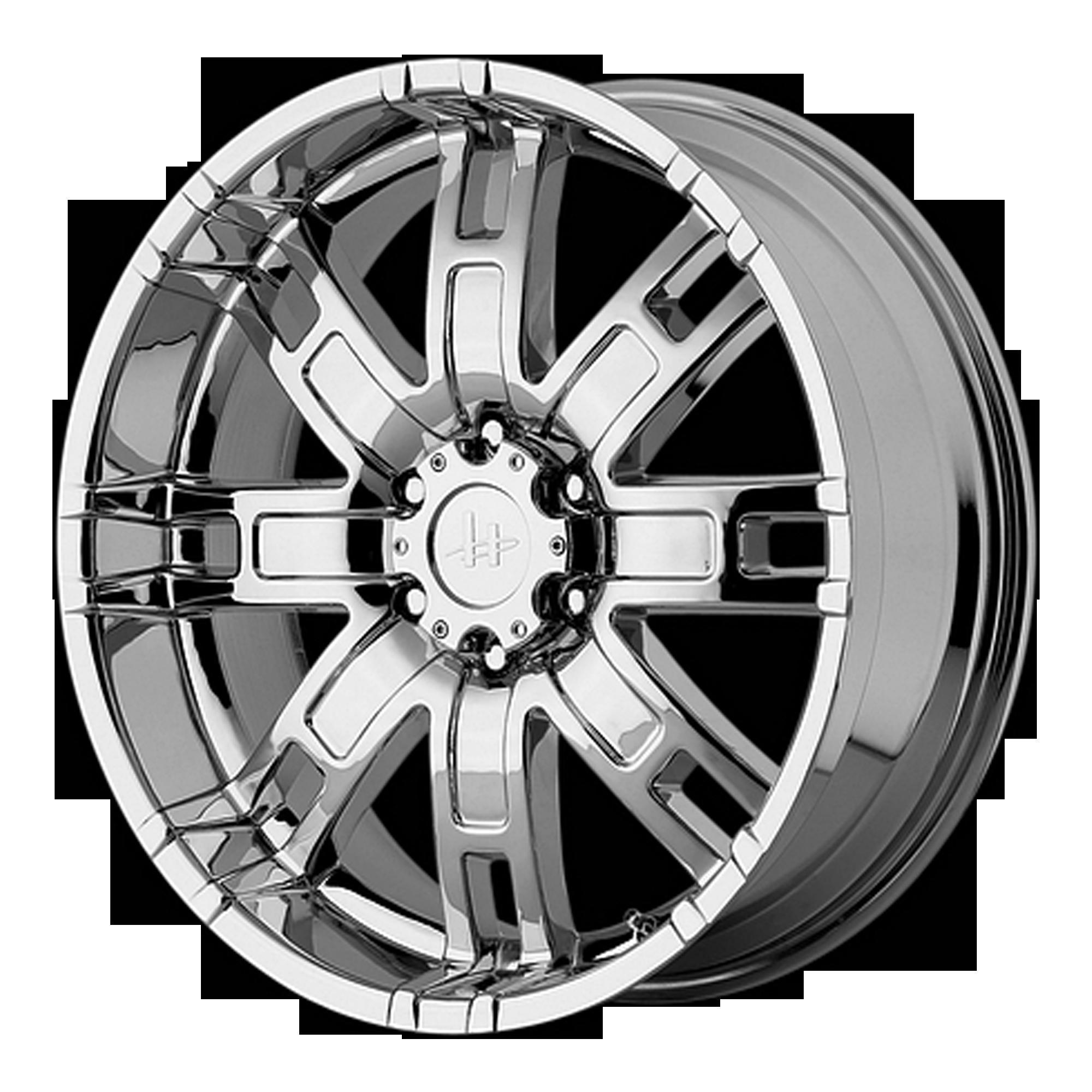 Helo Wheels HE835 Chrome