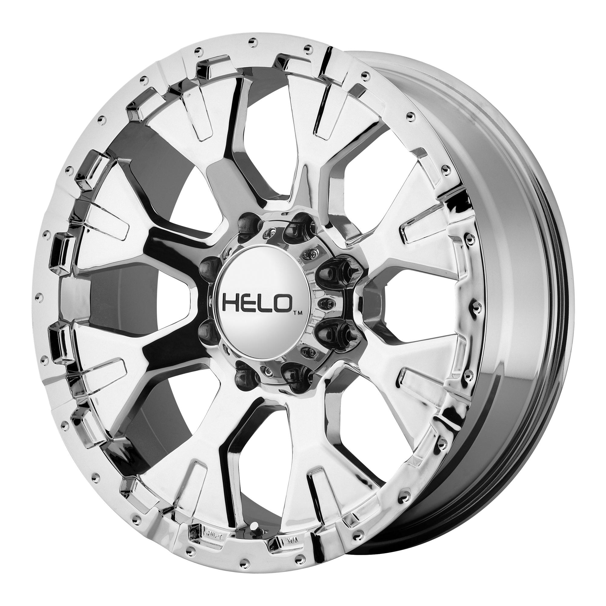 Helo Wheels HE878 Chrome