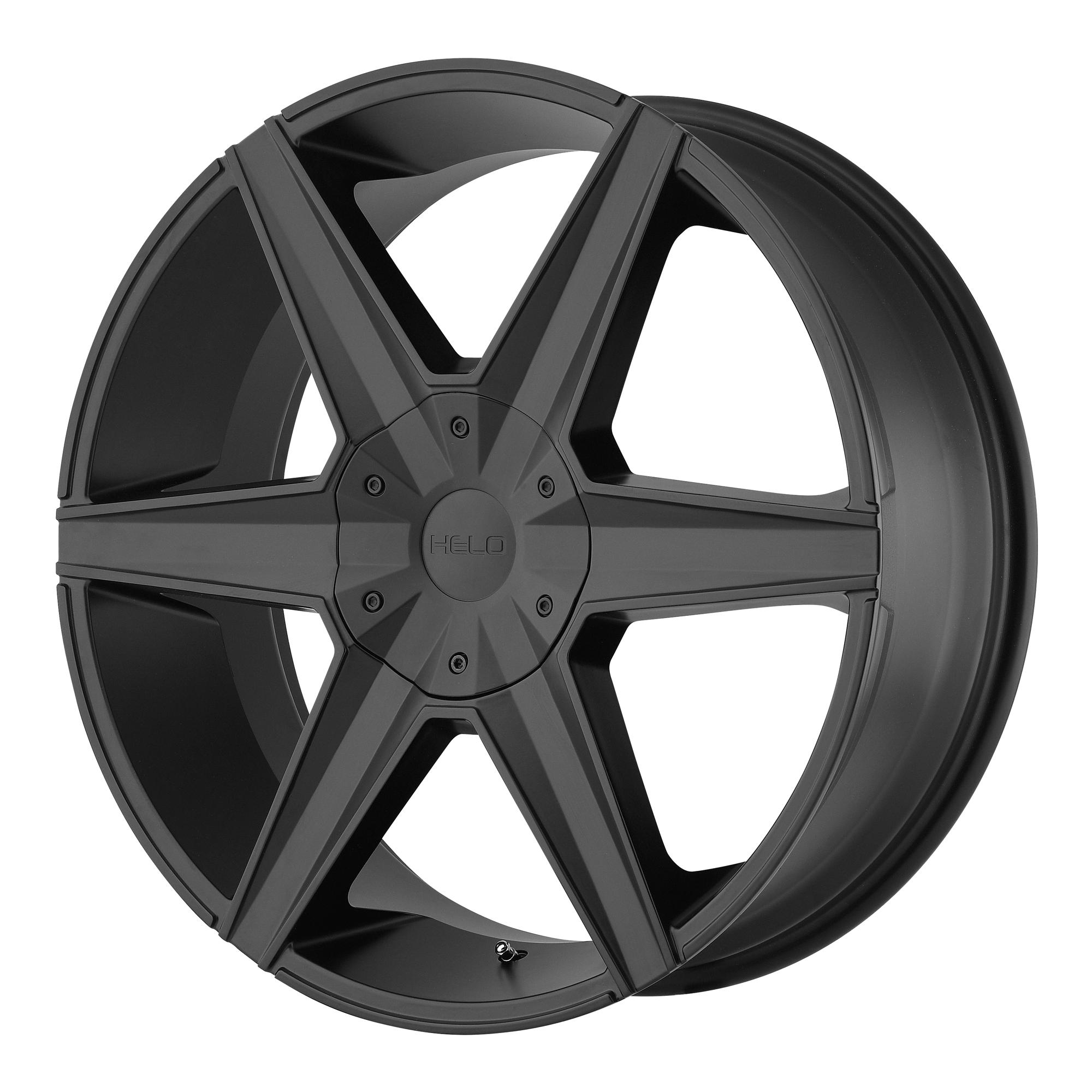 Helo Wheels HE887 Satin Black