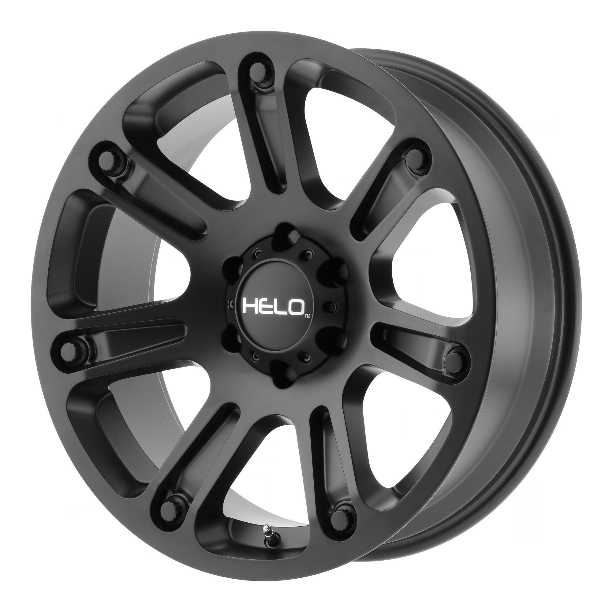 Helo Wheels HE904 Satin Black