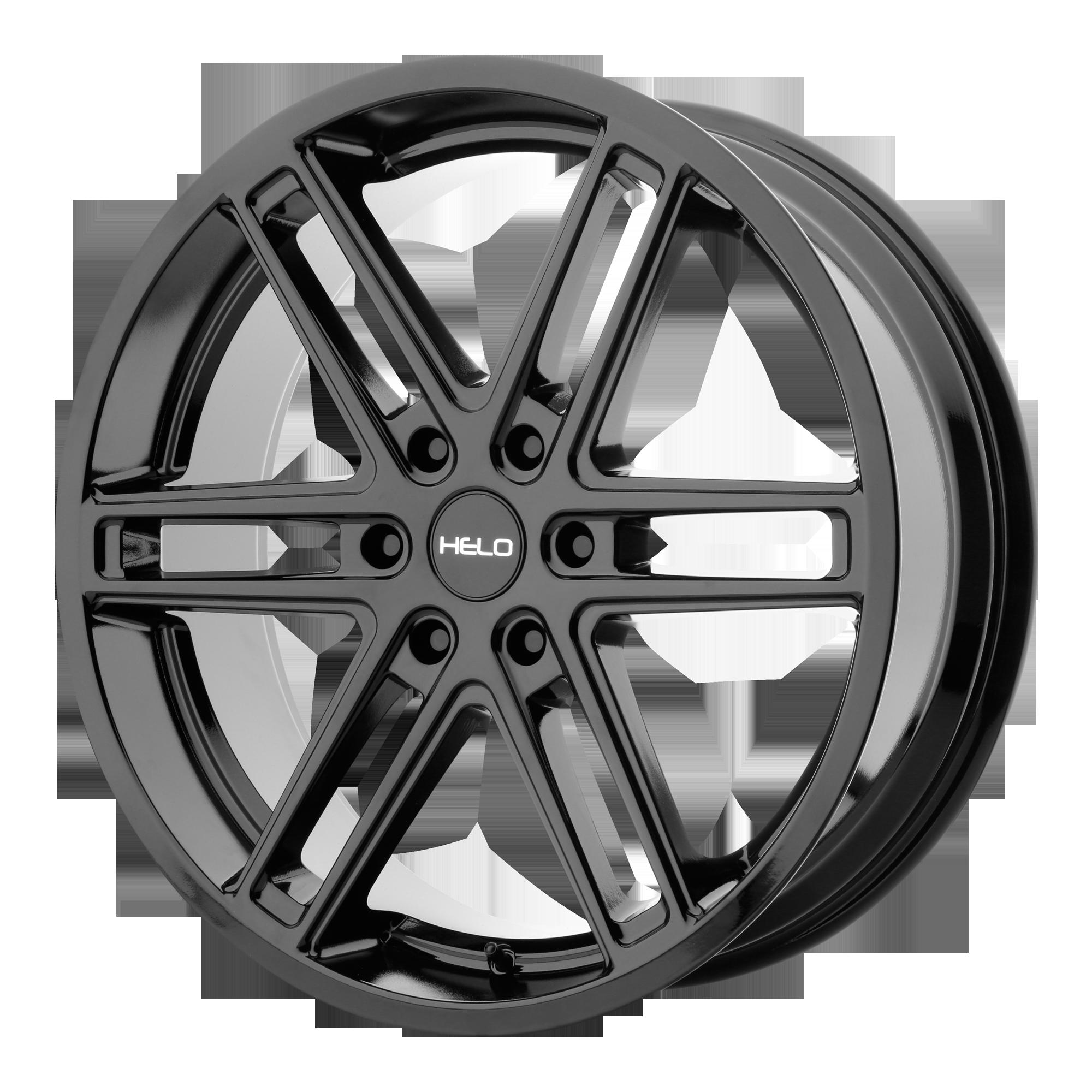 Helo Wheels HE908 Gloss Black