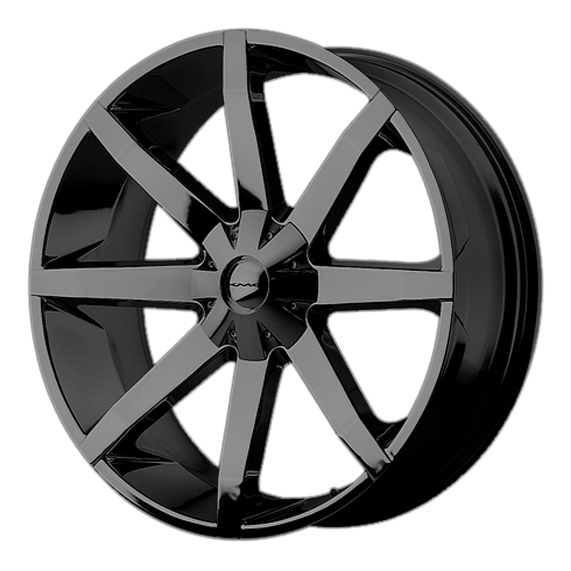 KMC Wheels SLIDE Gloss Black w/ Clear Coat